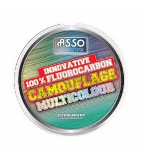ASSO - FLUOROCARBONE CAMOUFLAGE MULTICOLOUR 50M