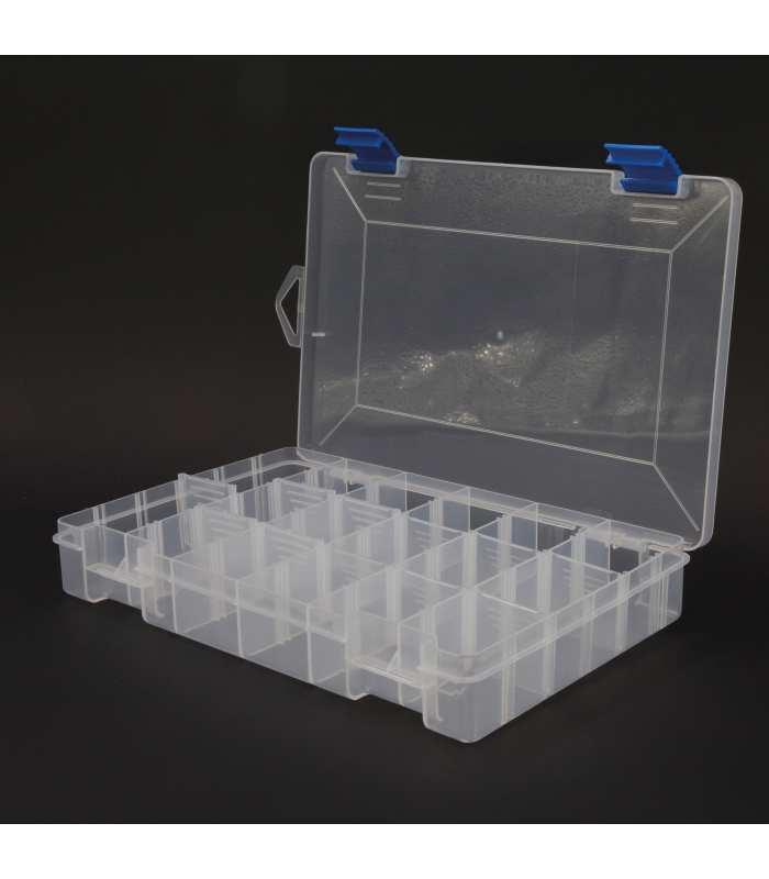 SCATCH TACKLE - BOITE PLASTIQUE - 12 CASES 28 x 19.5 x 4.5 cm