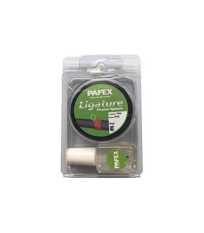 PAFEX - KIT A LIGATURER PVC NOIR 10M